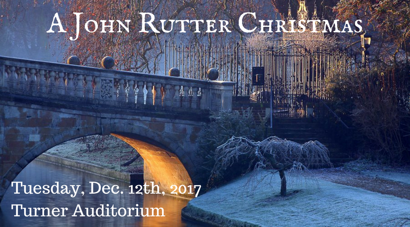 2017 Fall 'A John Rutter Christmas' Concert Poster (by Todd Hinkle)