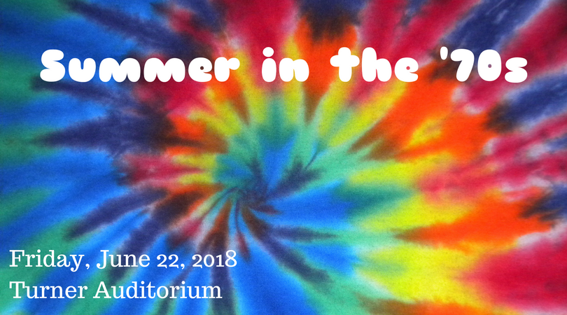2018 Summer 'Summer In The '70s' Concert Poster (by Todd Hinkle)